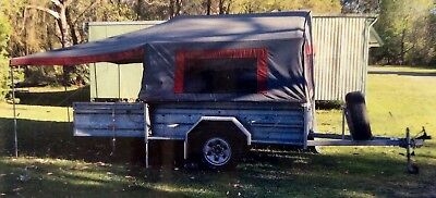 Camper Trailer Galvanised Off Road 4 X 4 Heavy Duty Suspension