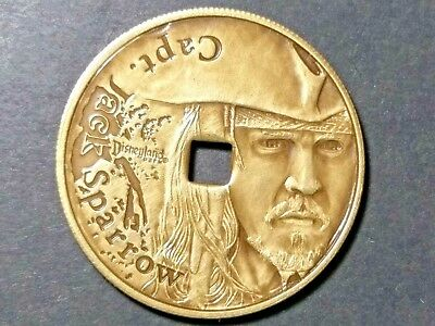 Disney Capt. Jack Sparrow Pirates of the Caribbean at Worlds End Coin