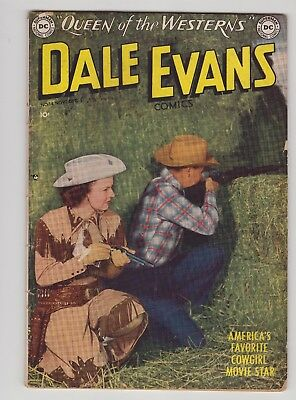 "Dale Evans, Queen of the Westerns #14 - Sep 1050 - ""The Wagon Train From Past!"""