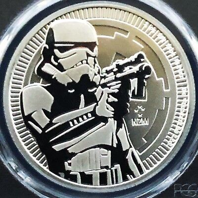 2018 Niue 1 oz Silver $2 Star Wars Stormtrooper MS69 PCGS [FREE SHIPPING]