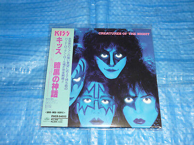 KISS Creatures Of The Night Mini LP CD JAPAN PHCR-94053 (1998) / Ace Frehley