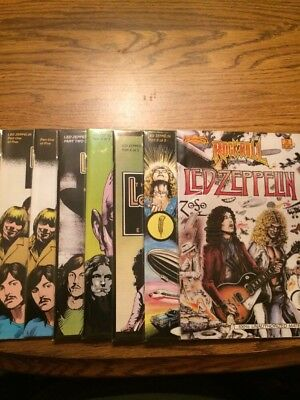 The Led Zeppelin Experience 1-5 NM Avg 1992 Plus Rock N Roll Comics #13 1990
