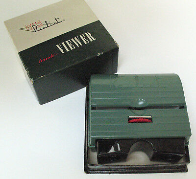 David White Co. Stereo Realist ST 63A 3D Slide Handi-Viewer, Very Clean in Box