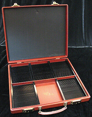 David White Co. Stereo Realist Attache 3D Slide Case for 150 Slides + More Space