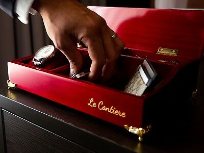 Men's Organiser Valet Box Fashion Gift by Le Contiere