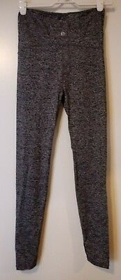 Maternity Core Tights Over Belly Grey Cotton OnBody Size Small