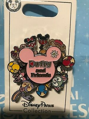Shanghai Disney Duffy and friends  Spinner Pin