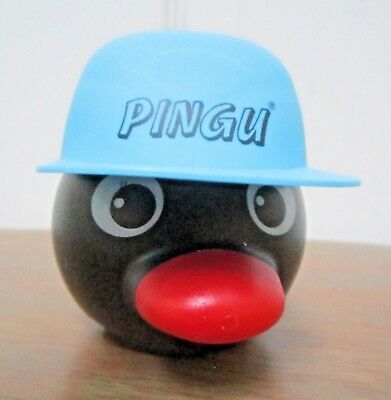 1990 Rare Original Swiss Pingu Ice Cream Pot With Baseball Hat