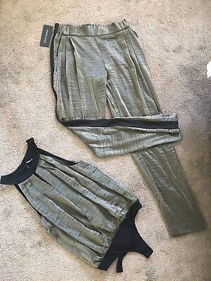 Ladies Top And Pants - Marciano Matching Set size 8