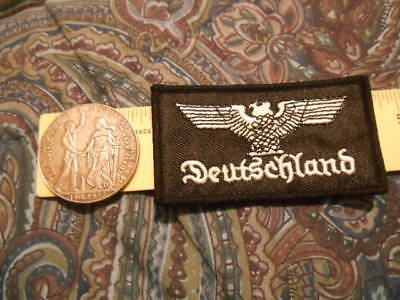 GERMANY Third Reich Medal,Saar Plebiscite  Reproduction Medal Token & Germ Patch