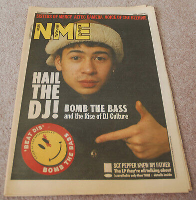 NME – 27.02.1988 – Bomb The Bass, Sisters Of Mercy, Aztec Camera