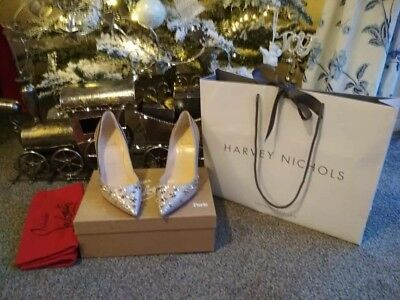 info for abe56 71c04 CHRISTIAN LOUBOUTIN SHOES size 5 - Wonder pump 100 Glitter ***BRAND NEW***