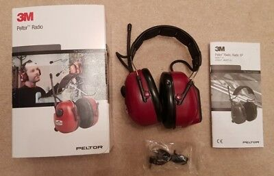 3M Peltor Ear Defenders with FM Radio - Superb Condition - Hardly Used