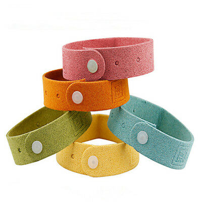 Safe Mosquito Repellent Bracelet Waterproof Spiral Wrist Band Insect Protection