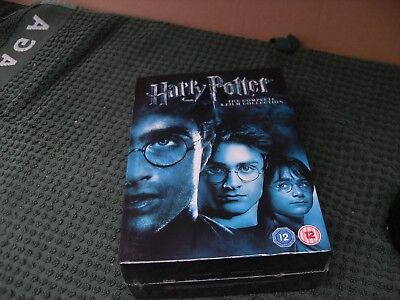 Harry Potter dvd complete 8 film collection