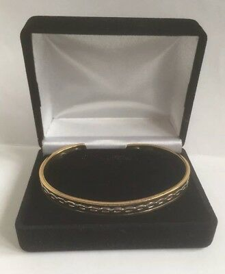 Magnohealth Magnetic Bracelet Gold And Silver Rope Design With Box