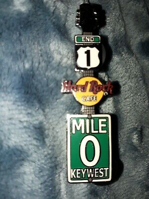 Hard Rock Cafe Pin Key West 0 Mile Key West NEW