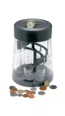 Digital Lcd Display Coin Counter Sorter Money Jar Change Counting Machine New