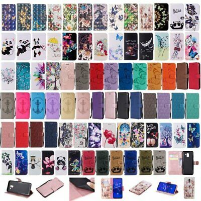 For iPhone 5 6 7 8 X XS XR Max giraffe card holder phone case wallet Flip folio