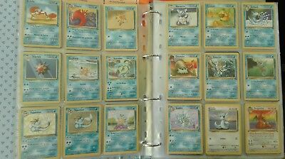 Lotto n°313 carte pokèmon set base, jungle, rocket ecc. italiano e inglese