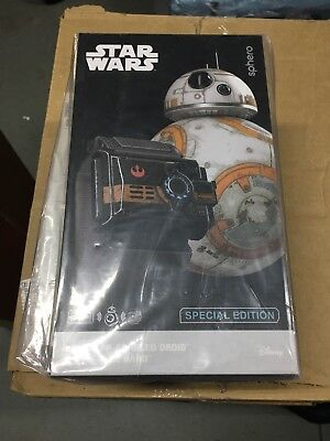 NIB Sphero Star Wars BB-8 App-Enabled Droid with Force Band Special Ed