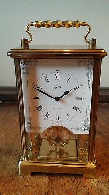 Vintage Schatz & Sohne 8 Day Brass Carriage Clock - Superb Condition And Gwo