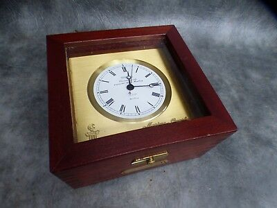 A Super Quality Wempe Marine Chronometer Set In Case
