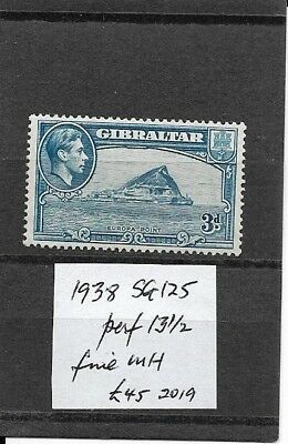 GIBRALTAR 1938 SG 125 perf 13.5 fine mint/MH as scan