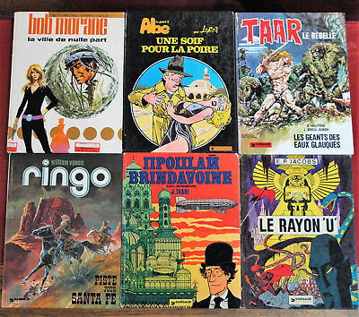 lot BD rares ou editions originales EO Dargaud Tardi Jacobs