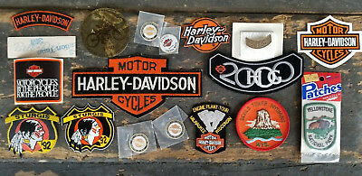 HARLEY DAVIDSON MOTORCYCLE Patches - Pins - Stickers