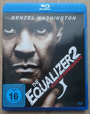 The Equalizer 2 - Blu-ray - Denzel Washington - NEUWERTIG