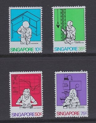 Singapore stamps 1981 MNH Industry