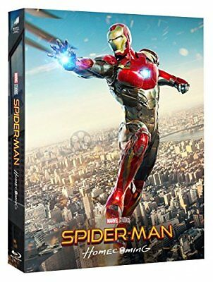 SPIDER-MAN HOMECOMING 2D + 3D Blu-ray STEELBOOK FILMARENA ED. #3 Numbered NEW!!!