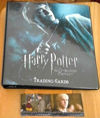 Harry Potter and the Half-Blood Prince Binder & Mini-Master incl 90 Card Base +