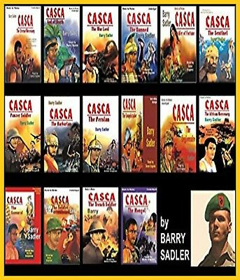 Casca Series AudioBooks Collection by Barry Sadler