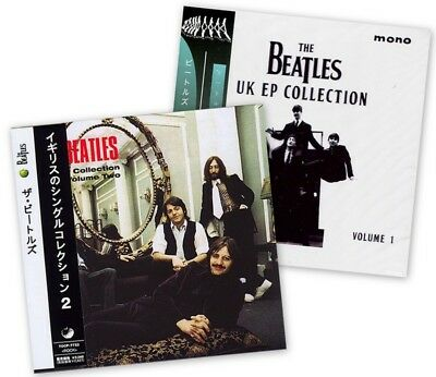 The Beatles - The UK EP Collection Volume 1 and Volume 2  ( 2 MINI LP with OBI )