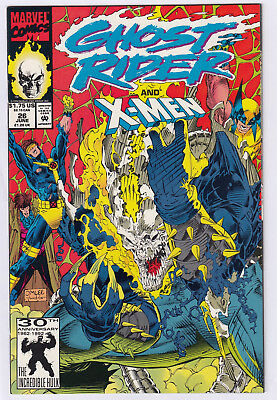 Ghost Rider 26 ft the X-Men 1992