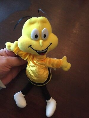 General Mills 1998 Cheerios Bee Cereal Toy Plush Beanie
