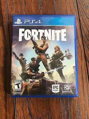 Fortnite (Sony PlayStation 4, 2017) Hard Copy Disc No Access Codes