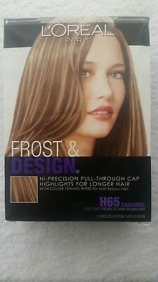 Loreal Frost Design H 65 Caramel Highlights For Longer Hair New