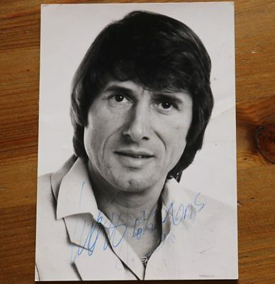 UDO JÜRGENS  †  autographed original SIGNED Autogramm signiert in Person