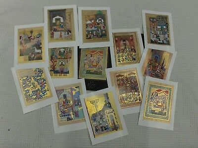 12 miniatures of the School of Behzad in Cairo Collections Mostafa Mohamed