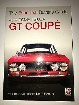 Alfa Romeo Giulia GT Coupe The Essential Buyer's Guide - Paperback USED K Booker