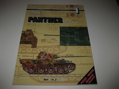 Tankpower Buch Panther Vol. 1