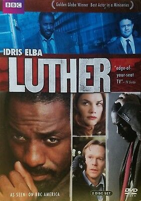 Luther (Bbc) 2 Dvd Set   Brand New / Factory Sealed / Never Opened / Free Ship