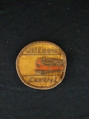 Vintage Illinois Central Railroad Embroidered Patch
