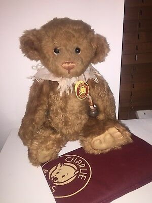 """Charlie Bears Tink 16"""" Isabelle Lee Design NEW with Tags & BAG"""