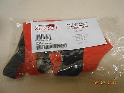 Brand new sealed Sunset Healthcare Ruby Style Adjustable Chin Strap C-Pap no RX