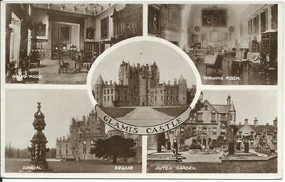 RP postcard-GLAMIS CASTLE-Multiview-Royalty link