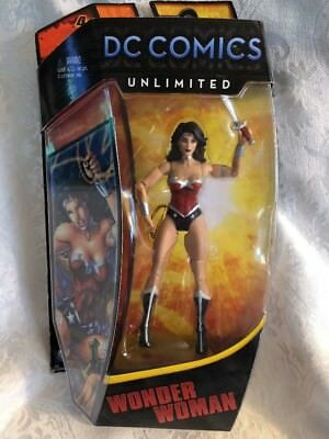 "DC Unlimited Comics Wonder Woman Princess Diana Justice League Mattel 6"" NIB"
